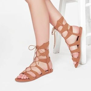 JustFab Jerie Gladiator Sandals